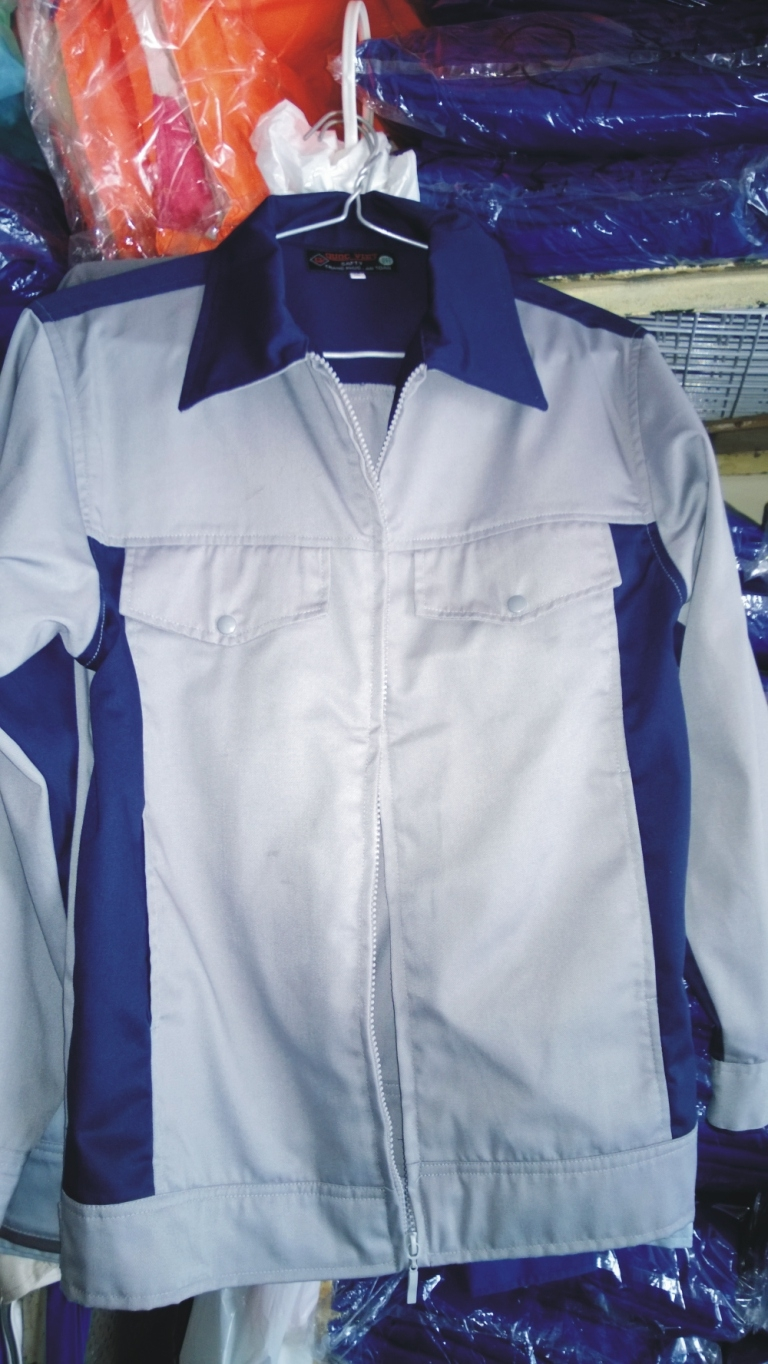 Áo kéo khóa vải Pangzim- Hàn Quốc