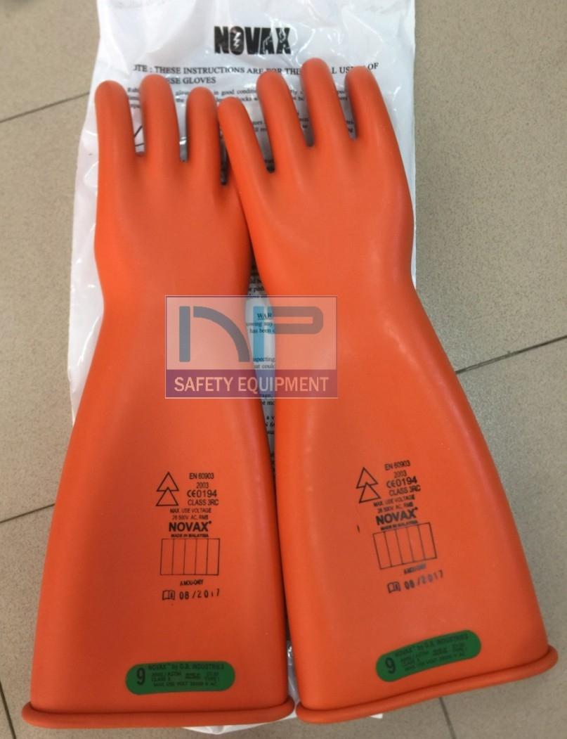 Găng tay cách điện 26.5kV- Novax (Malaysia)