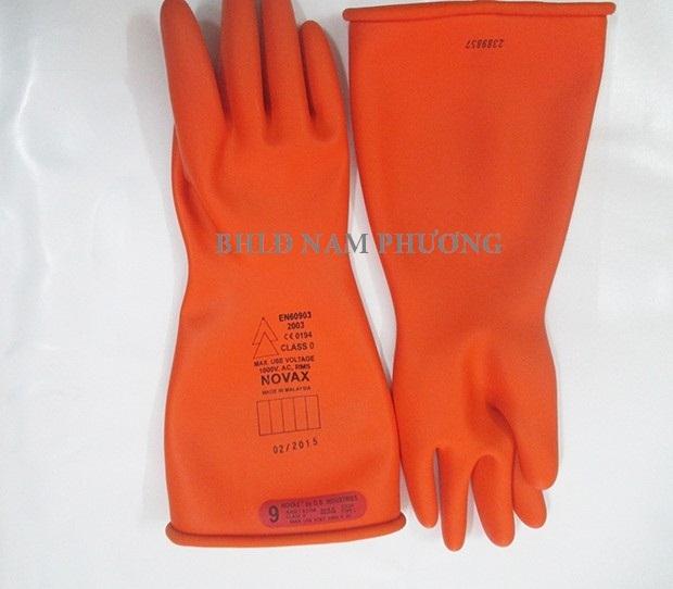 Găng tay cách điện hạ áp Novax (1000Volt)