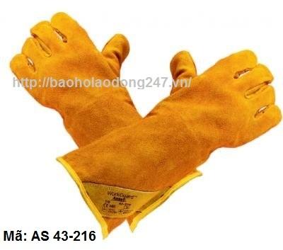 Găng tay da hàn Ansell
