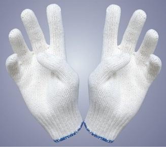 Găng tay vải sợi 40gram kim 10