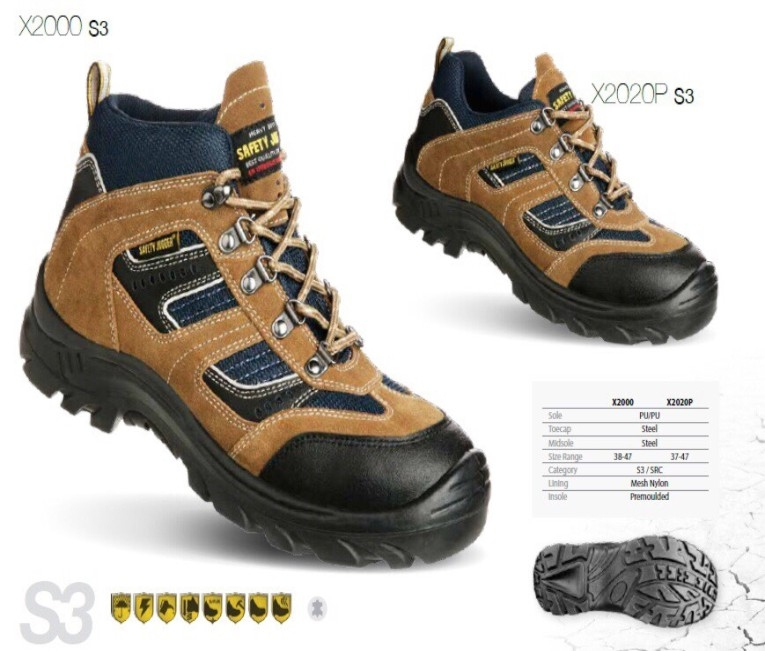 Giày mũi sắt cao cổ Jogger X2000-S3