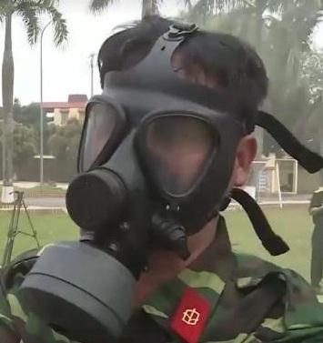 Mặt nạ chống khói độc P5PH-Bộ Quốc Phòng