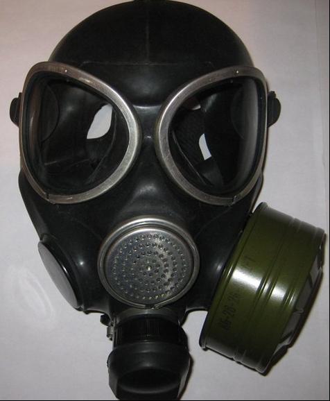 Mặt nạ phòng độc ống dài (Nga)