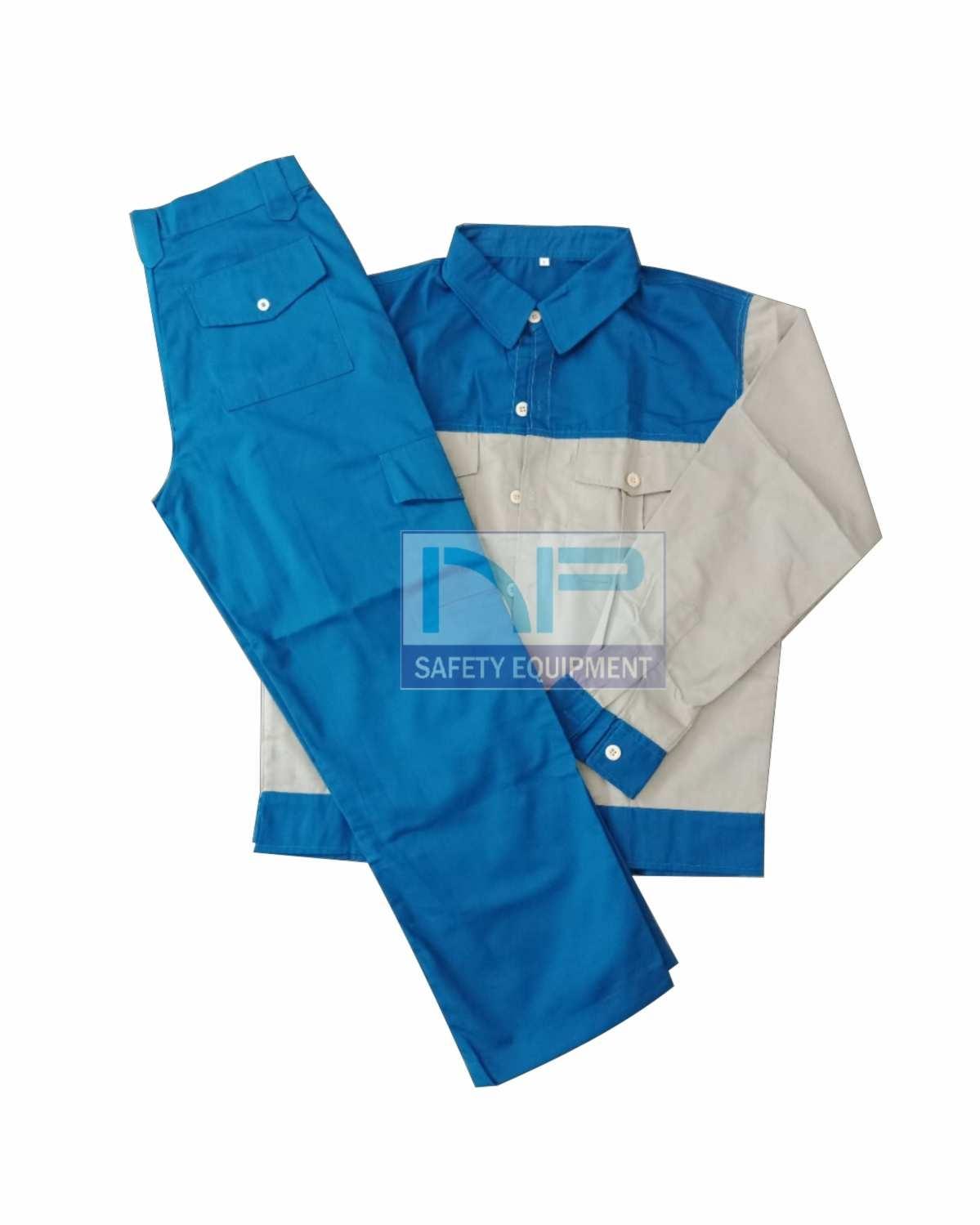Quần áo bảo hộ vải Pangzim-HQ phối màu