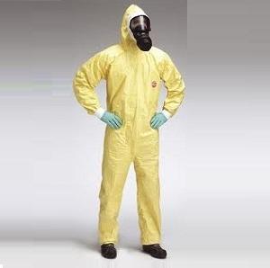 Quần áo chịu hóa chất Dupont- TyC (Hoa Kỳ)