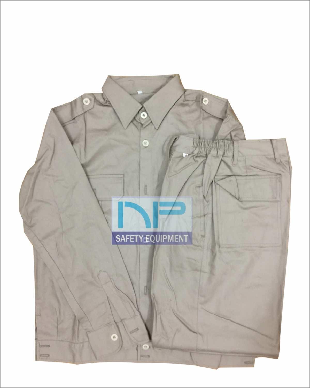 Quần áo Kaki ND túi hộp màu ghi đá (May sẵn)