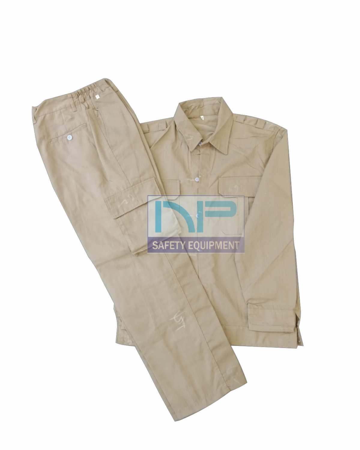 Quần áo màu nâu vải kaki Nam Định