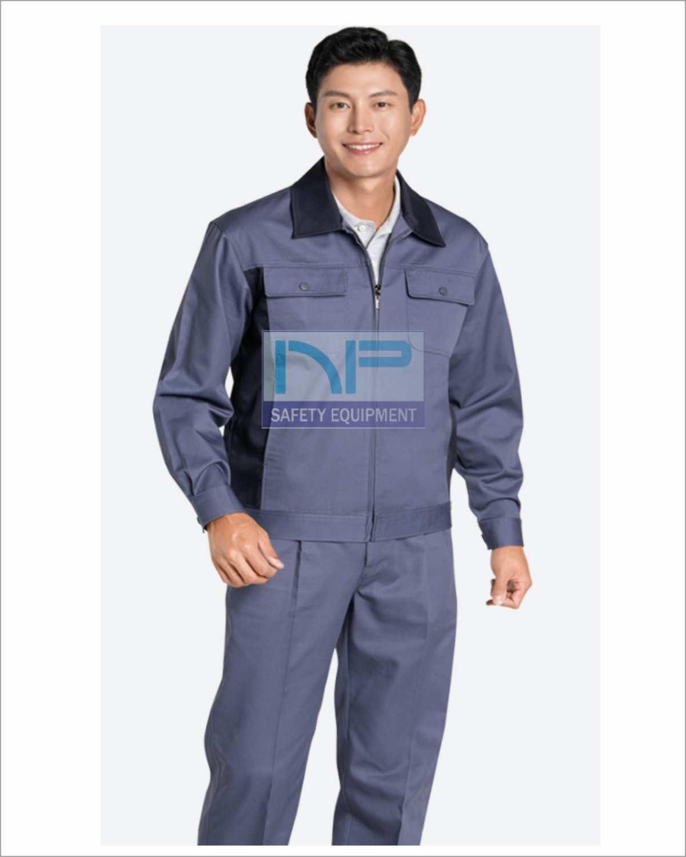 Quần áo Pangzim-HQ dày phối màu xám-đen