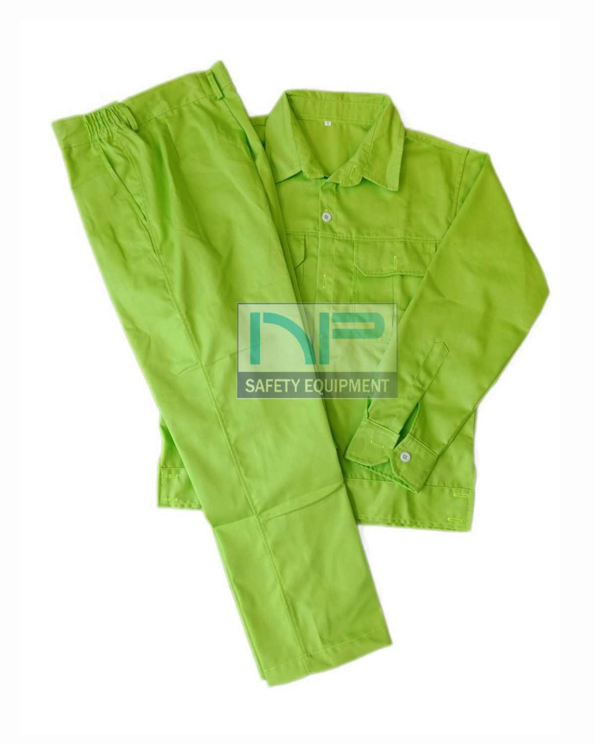 Quần áo vải kaki ND màu nõn chuối