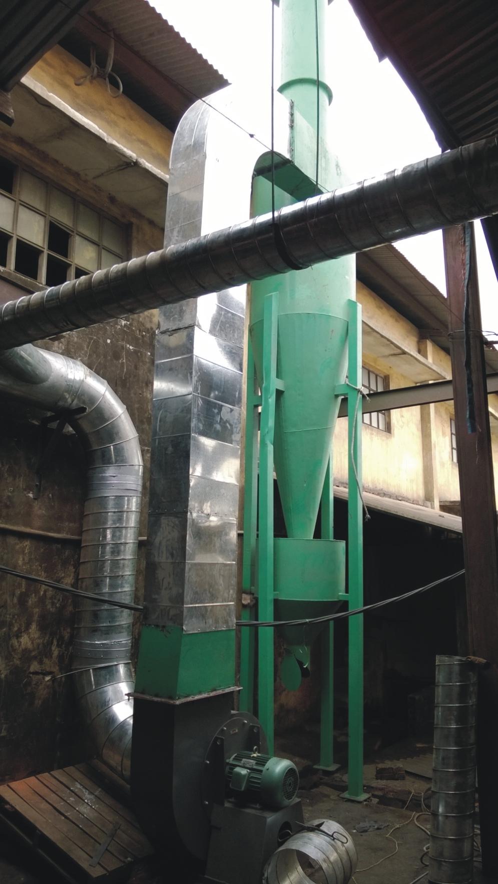 Thiết bị xử lý bụi than