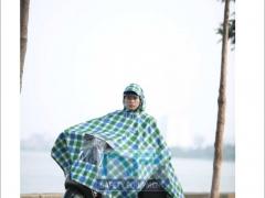 Áo mưa choàng Thủy Sơn có bóng kính