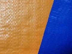 Bạt che màu xanh-cam loại mỏng (m2)
