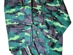 Bộ quần áo rằn ri xanh- vải kaki Nam Định