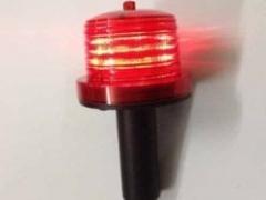 Đèn pin quay chạy pin, cắm cột