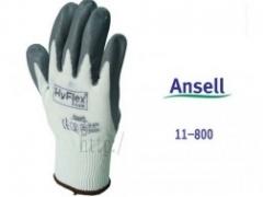 Găng tay chịu dầu mỡ, hóa chất Ansell