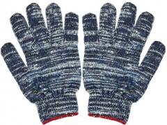 Găng tay len (sợi) màu muối tiêu