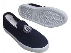 Giày ASIA màu xanh không dây buộc