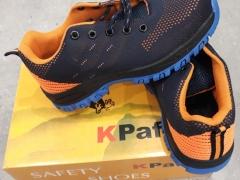 Giày bảo hộ mũi sắt KPaf màu cam dáng thể thao