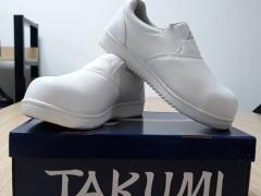 Giày mũi sắt không dây TAKUMI TSH-225White