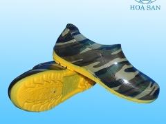 Giày nhựa màu rằn ri cho nam