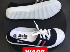 Giày vải thể thao ASIA màu đen cho nữ