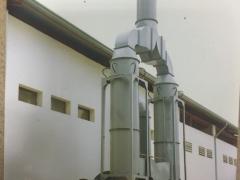 Hệ thống xử lý bụi cát