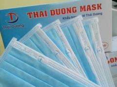 Khẩu trang y tế Thái Dương- Việt Nam