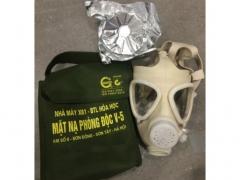 Mặt nạ chống khói độc V5-Bộ Quốc Phòng