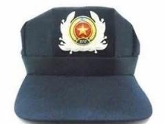 Mũ ba cạnh bảo vệ (sao- cành tùng)