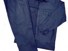 Quần áo bảo hộ kaki ND màu xanh đen (may sẵn)
