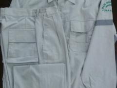 Quần áo bảo hộ vải Pangzim-Hàn Quốc