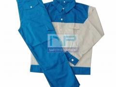 Quần áo bảo hộ vải Pangrim-HQ phối màu
