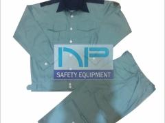 Quần áo BH vải Pangrim-HQ phối màu MBlue-PL128