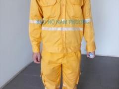 Quần áo chống cháy chậm vải Nomex