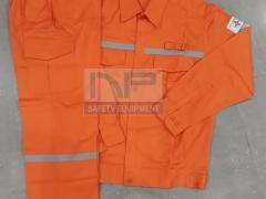 Quần áo vận hành nam điện lực vải Pangrim-HQ