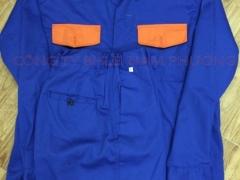 Quần áo kaki Nam Định túi hộp-phối màu (Đặt may)