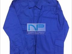 Quần áo Kaki ND túi hộp màu xanh CN (May sẵn)