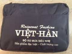 Quần áo mưa bộ Việt Hàn