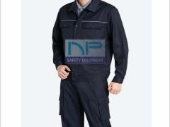 Quần áo Pangzim-HQ vải dày màu xanh đen
