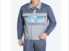 Quần áo Pangrim-HQ vải dày phối màu ghi-xám