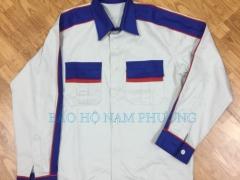 Quần áo phối màu vải kaki Nam Định 65/35