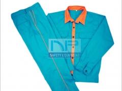 Quần áo phối màu vải kaki Nam Định dày
