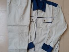 Quần áo phối ghi-xanh vải Pangrim- Hàn Quốc