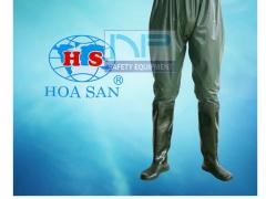 Quần lội ruộng 02 lớp- Hoa San