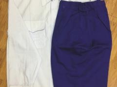 Quần xanh áo trắng nam vải kaki NĐ