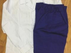Quần xanh áo trắng nữ vải kaki NĐ