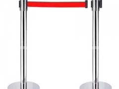 Rào chắn inox dây kéo dài 5 mét (02 cột inox)