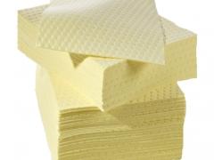 Tấm giấy thấm hóa chất nguy hại (thùng)
