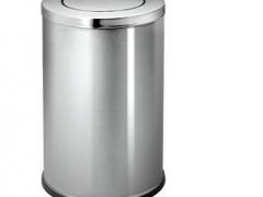 Thùng rác inox tròn 80 lít